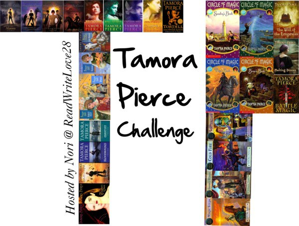 2016 Challenge~ Read Tamora Pierce!